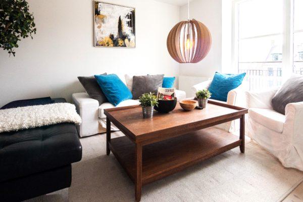 livingroom, sofa, airbnb, renting, rental