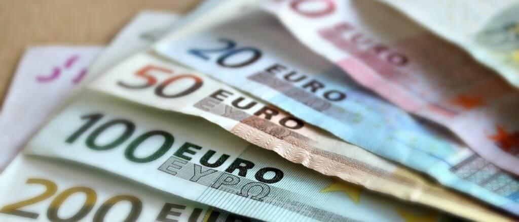 euros, bank notes
